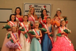 2014 boones mill apple festival pageant queens