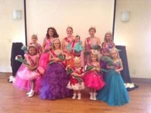 2015 boones mill apple festival pageant queens
